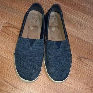 TOMS Denim blue sneakers